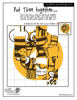 Tbee puzzle- Fernnie Puzzles.jpg