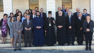 His Grace Bishop Seraphim Visits
