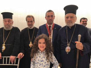 DINNER FOR THE NAME DAY OF HIS EMINENCE ARCHBISHOP STYLIANOS