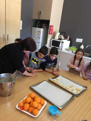 Greek School Baking