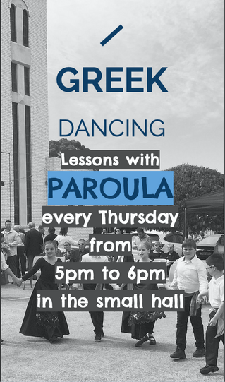 Greek Dancing with Paroula