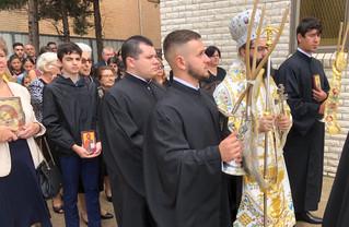His Grace Bishop Aimilianos of Meloe Visits Our Parish