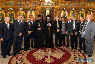 His Eminence Archbishop Makarios Visits Our Parish