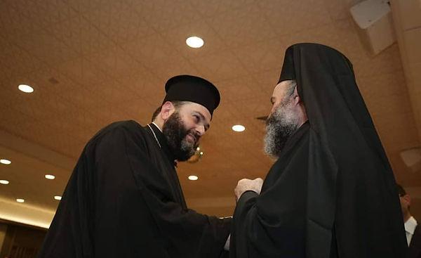 Fr Prochoros and His Eminence.jpg