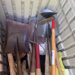 Shovels, Hoes & More...