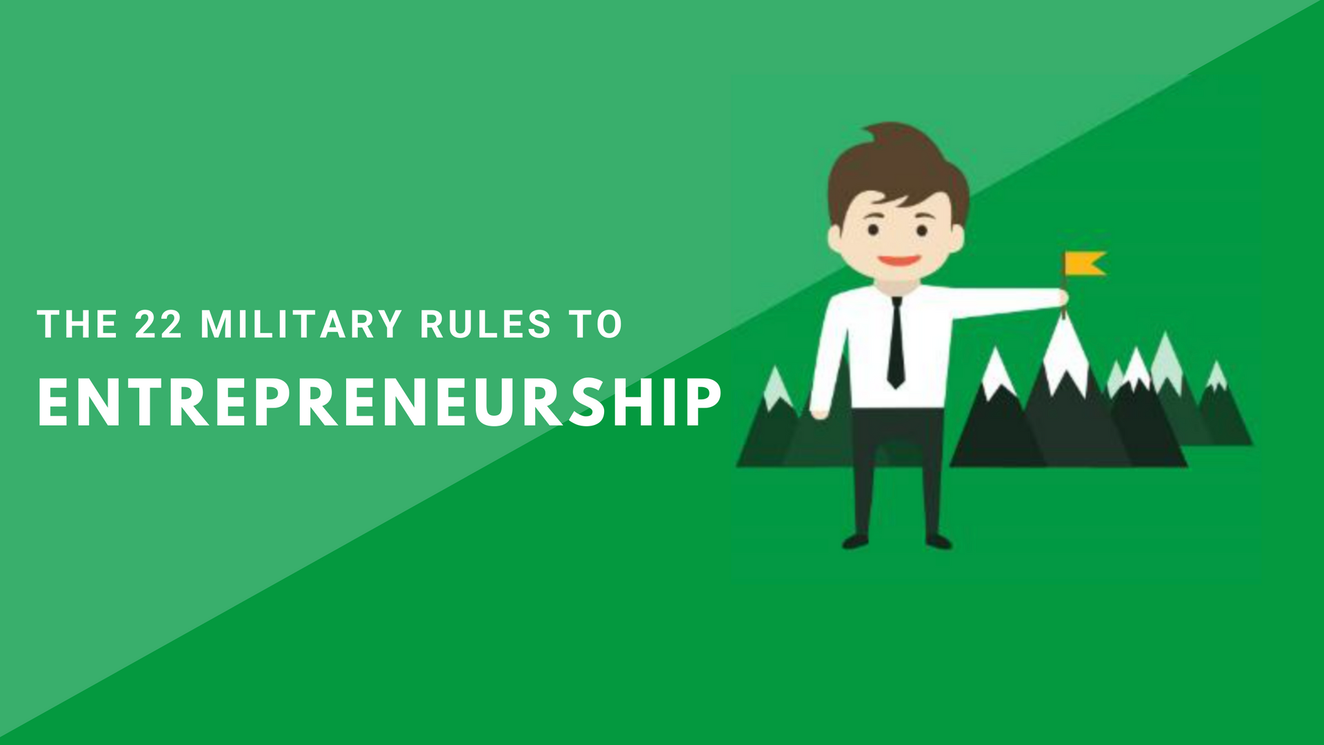 course - military rules to entrepreneurs
