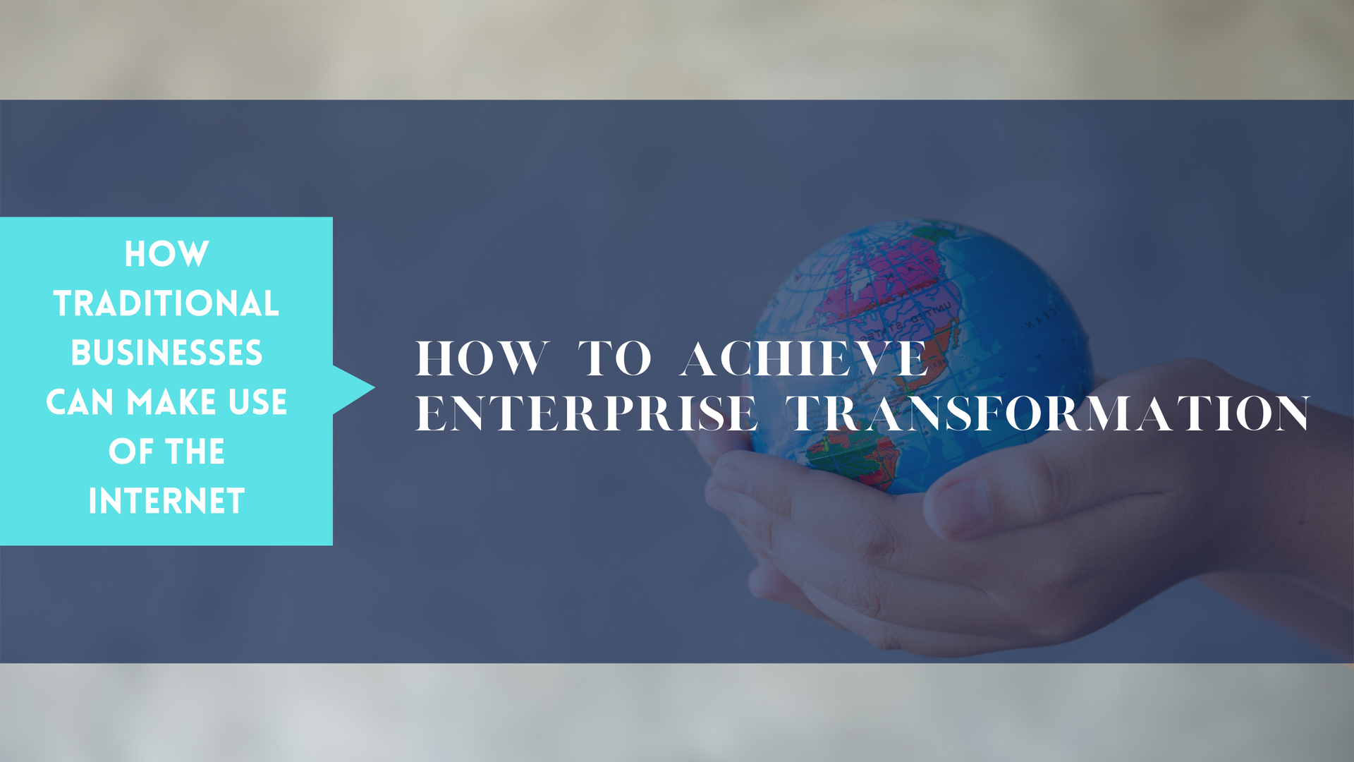 course - achieving business transformati