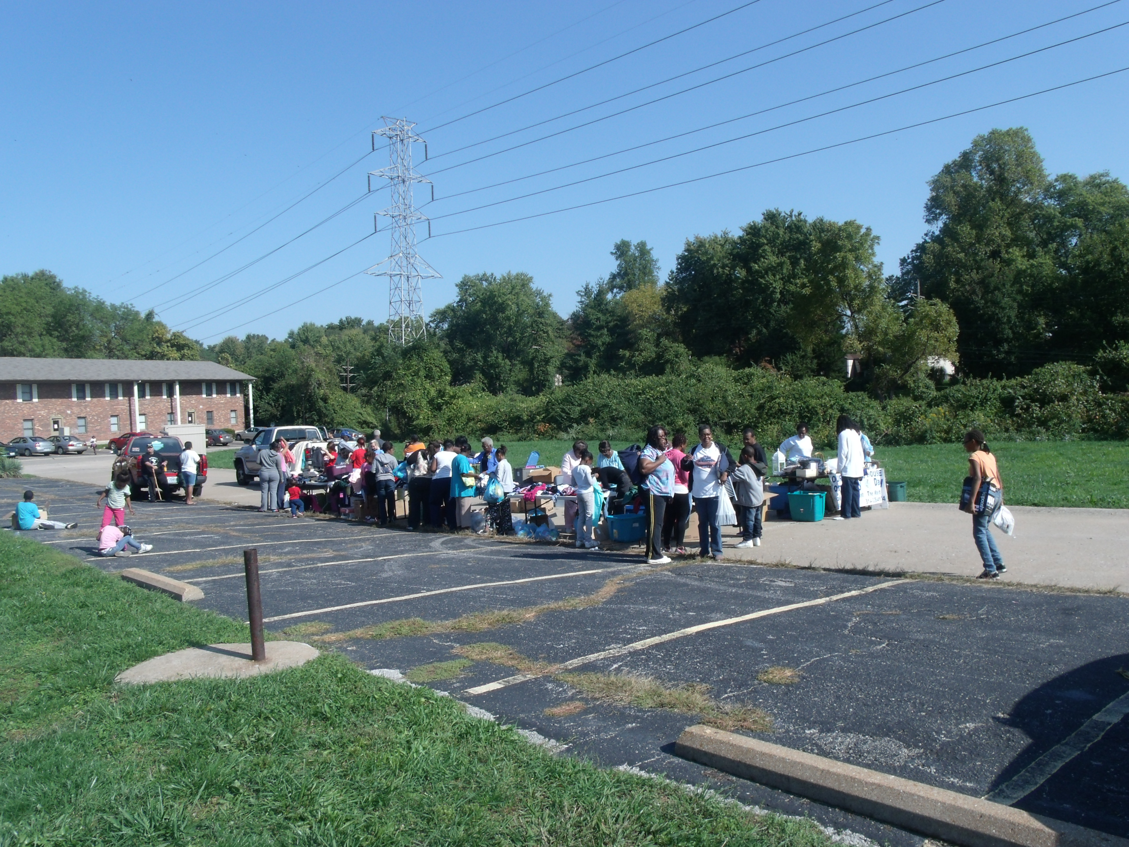 Jamestown Apartment Community Day