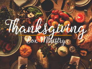 Thanksgiving Box Shopping