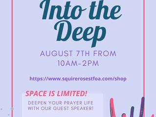 Into the Deep Prayer Retreat