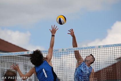Turniej siatkówki plażowej w Sopocie