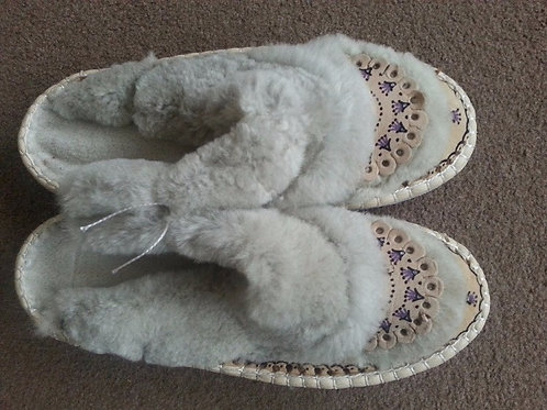 Ladies slippers  open back