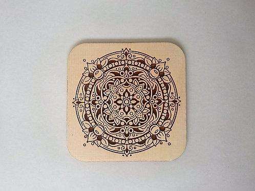 Mandala coaster - 4