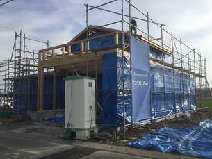 福井市内にて新築工事が始まりました。