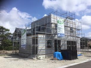 坂井町に新築工事始まりました