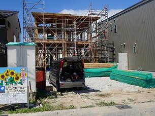 春江町にて新築工事始まりました。