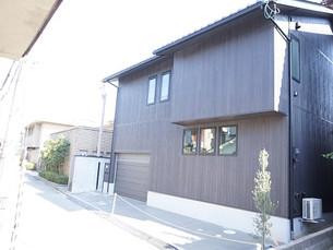 金沢のまちなかの家ができました。