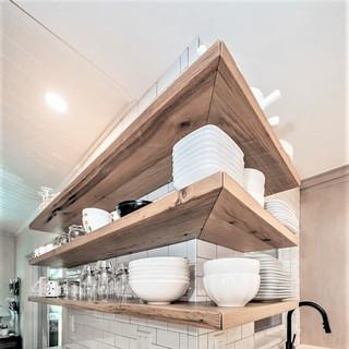 Mantels, Mirrors, + Shelves