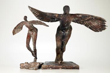 Ikarus u. Daedalus · je Bronze · 2012/2013
