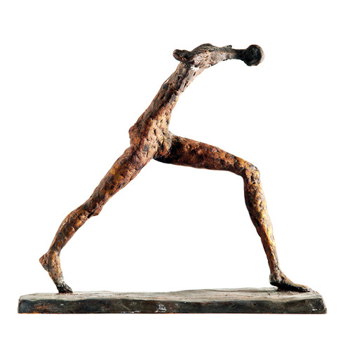 Läufer · Bronze · 2010 · 26 x 28 x 13 cm