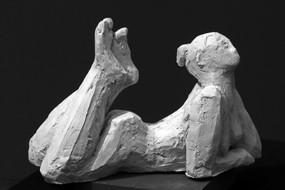 Träumende Hartgips · 2012 18 x 27 x 12 cm