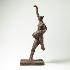 Tänzerin ·Hartgips/Bronze · 2012 · 41 x 18 x 17 cm