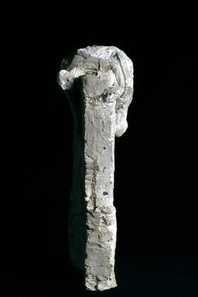 Mann auf Mauer · Beton · 2006 · 30 x 31 x 13 cm (2)