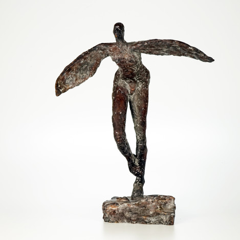 Ikarus · Bronze · 2012 · 28 x 45 x 23 cm