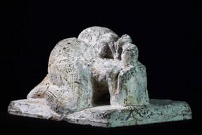 Magna mata · Beton · 2008 · 13 x 22 x 16 cm