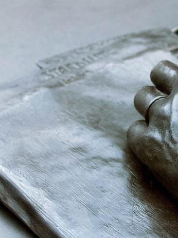 Hoagy's Hand (Close-Up)