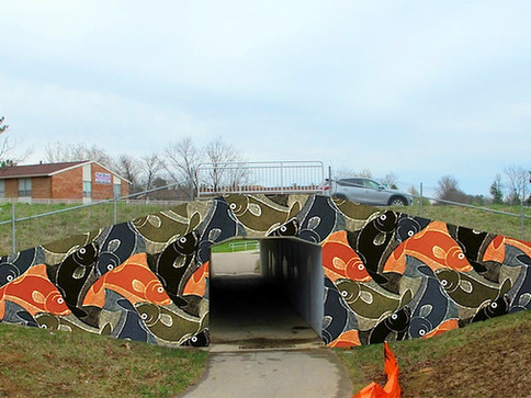 Proposed Underpass Design_(after Escher_fish)