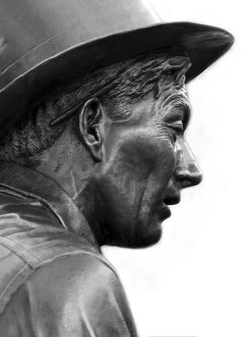 Hoagy Portrait (Detail)