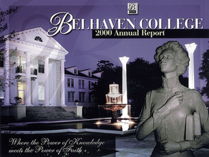 Belhaven College Report Cover_w/clay sculpture