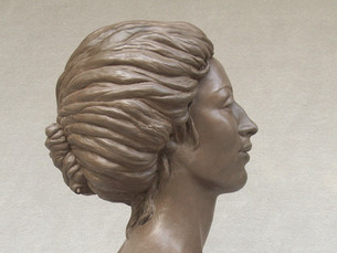 Victorian Lady_cold cast bronze