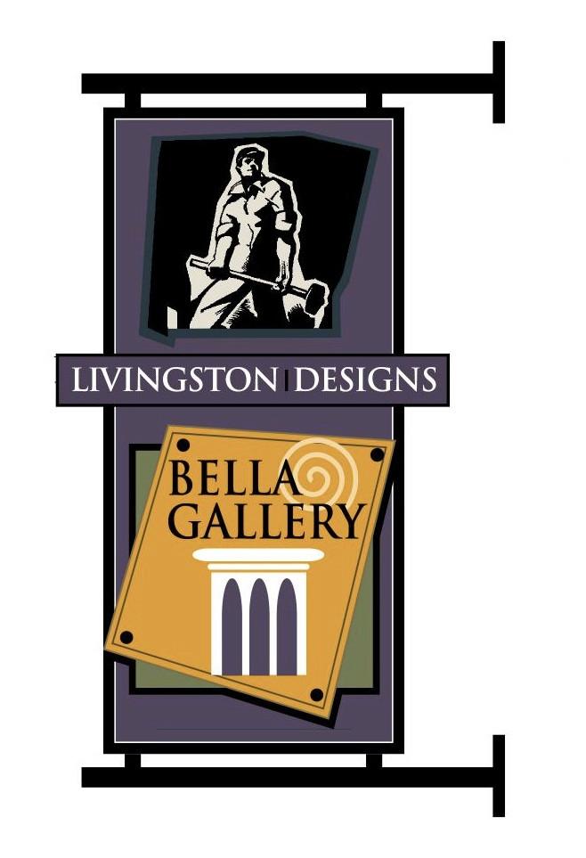 Livingston Designs & Bella Gallery Signage
