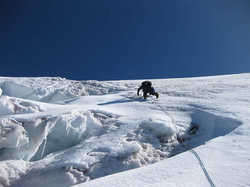 Me Leading one of the final pitches to the summit