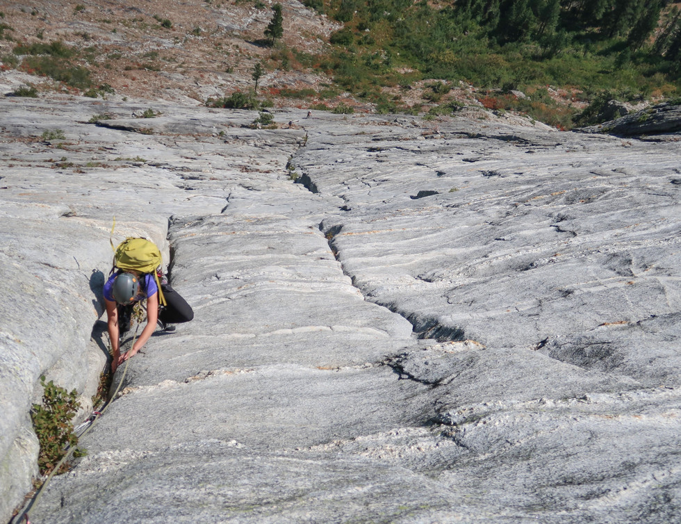 Crux moves in the Offwidth