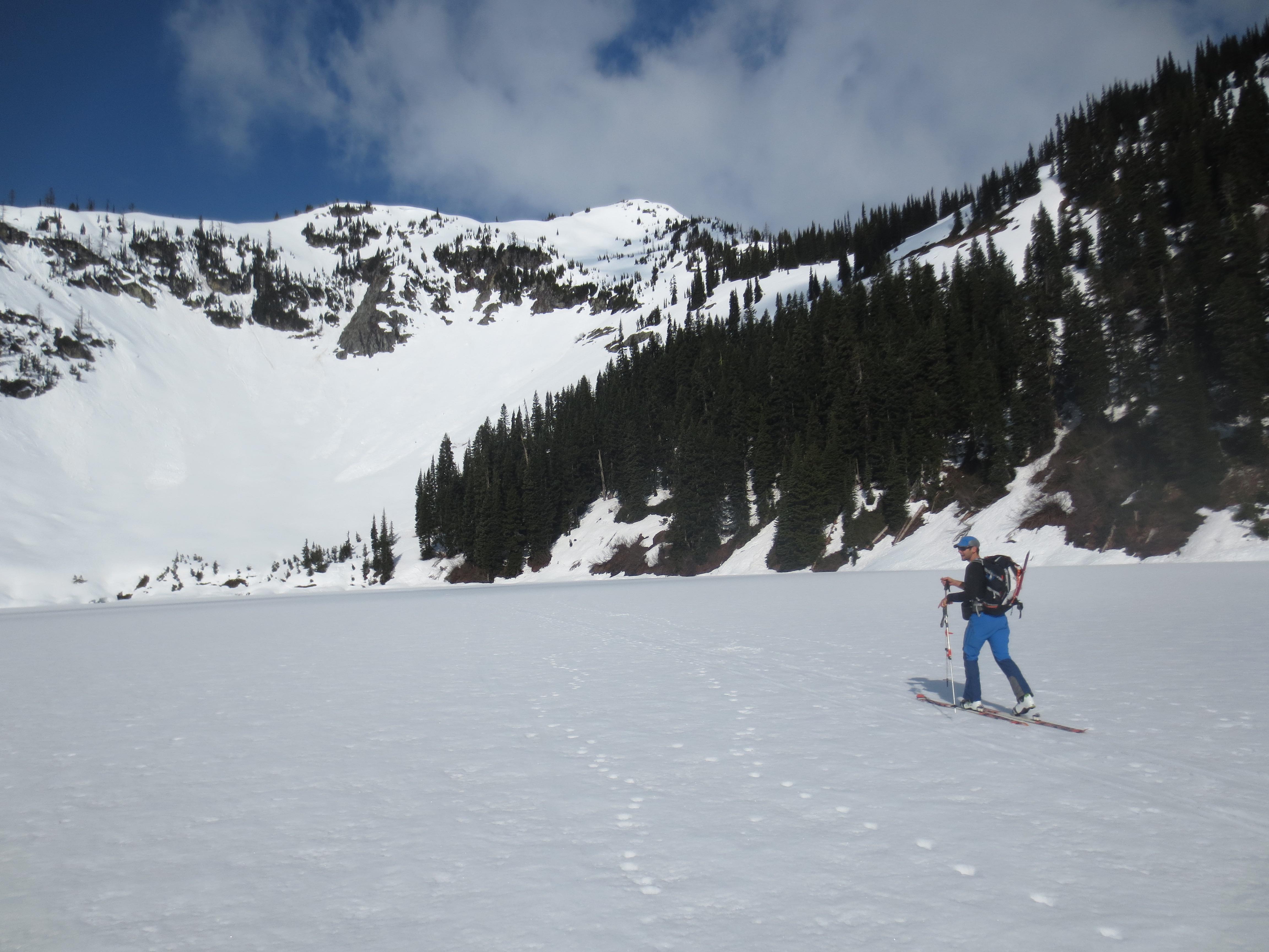 Crossing Lake Ann