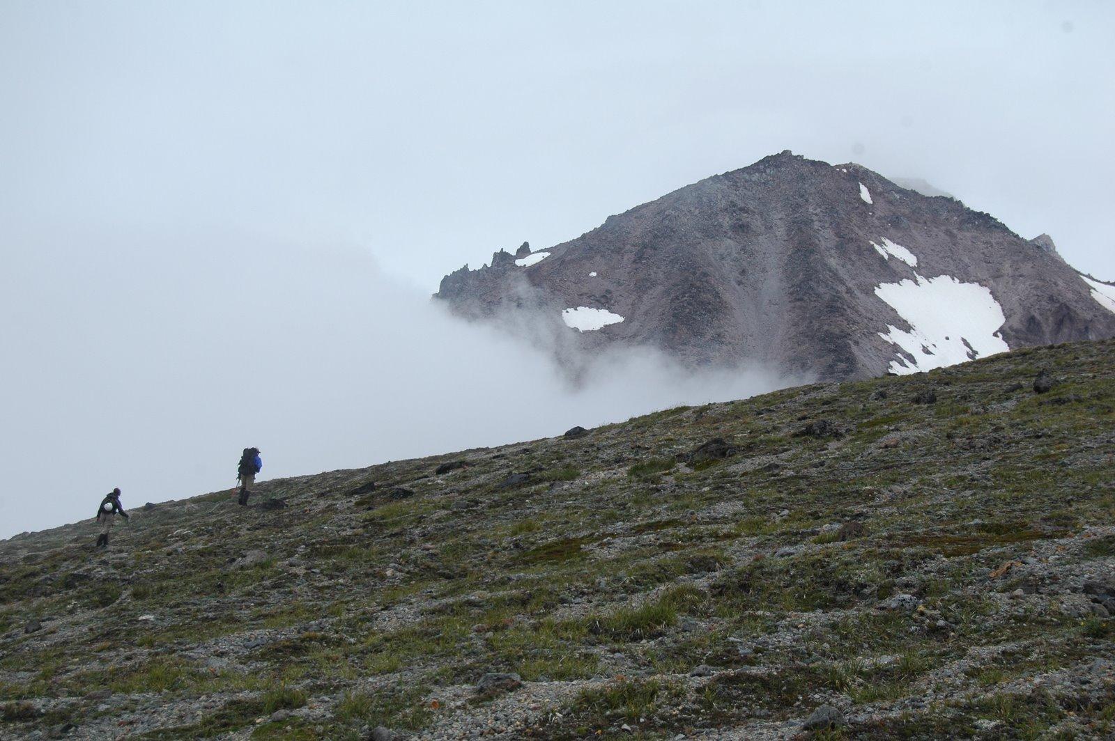 A ridge to Dissapointment peak