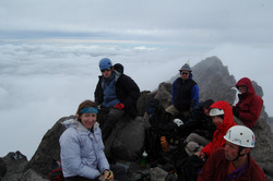 Gang on the summit