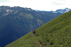 chain gang coming up the mountain