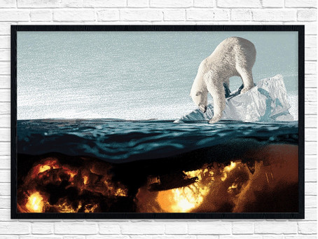 IT'S GETTING HOT ON EARTH! HOW CONTEMPORARY ARTISTS DRAW ATTENTION TO ENVIRONMENTAL ISSUES