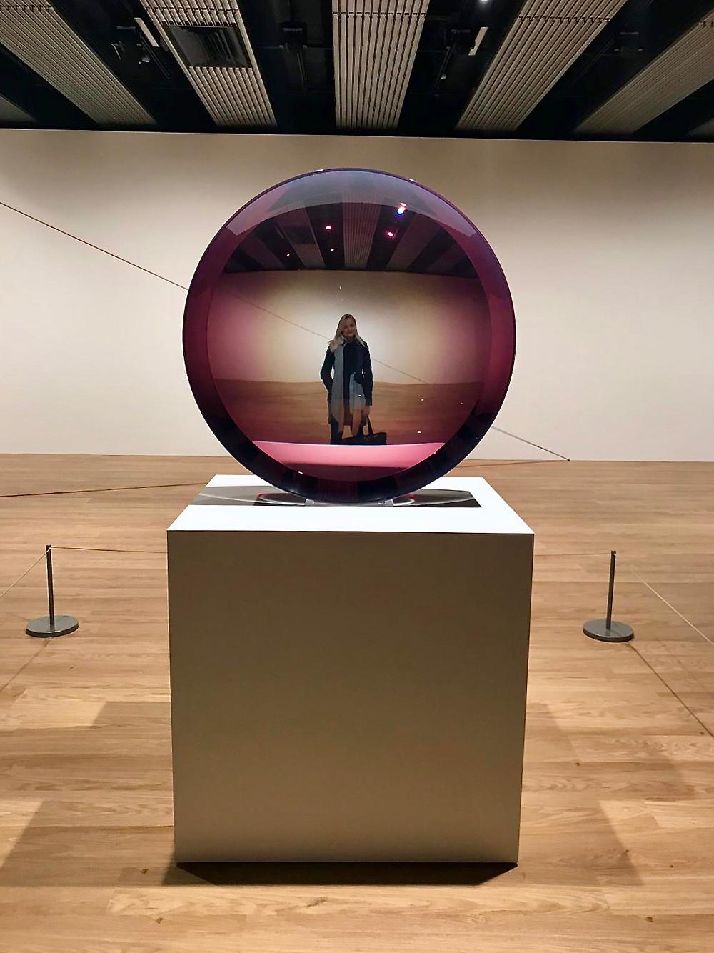 """Fred Eversley """"Untitled ( Parabolic Lens)"""", 1971"""