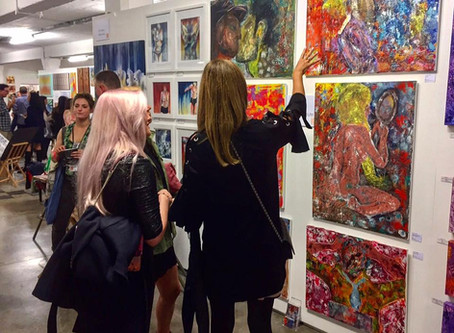 A FEW MOMENTS FROM THE NEW ARTIST FAIR 2017
