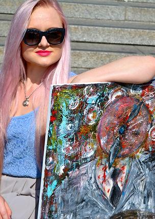 Acrylic artist