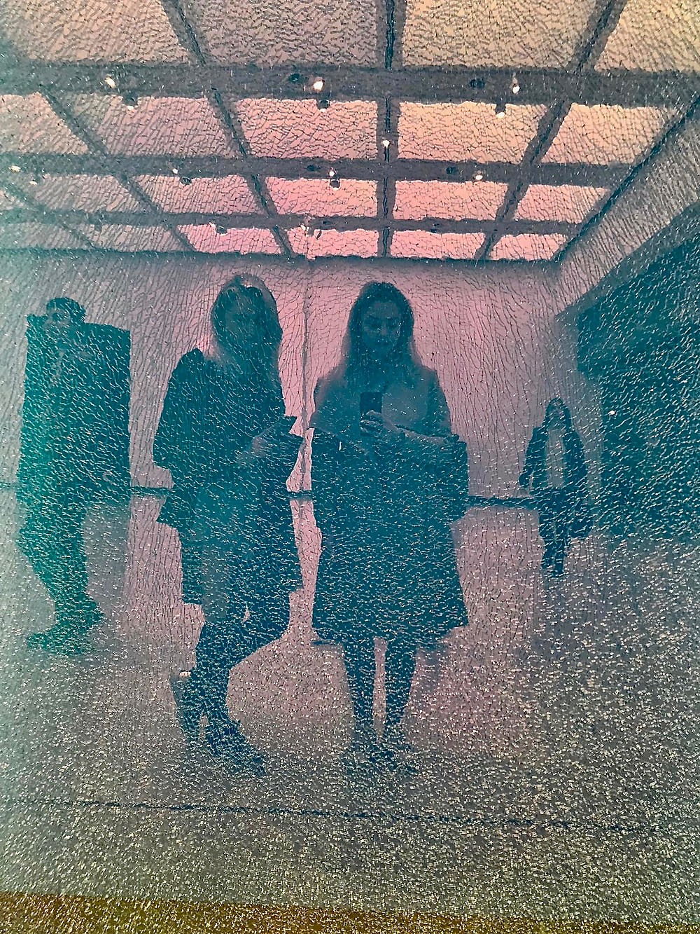 "Ann Veronica Janssens ""Magic Mirror (Pink #2), 2013-17"