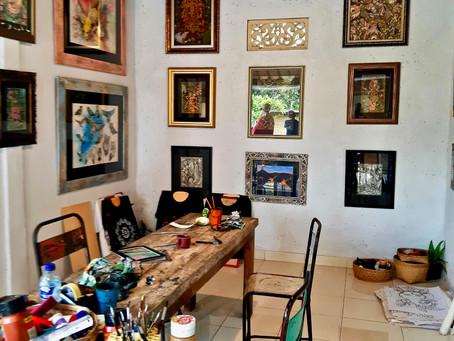 Dienoraštis iš Balio: vietinis menas kaip kūrybinė terapija