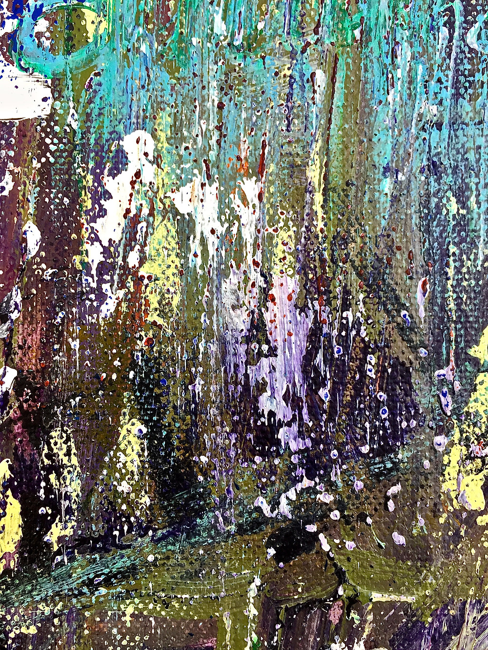 "Detail of ""October in Manhattan"""