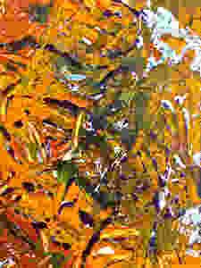 "Detail of ""October in Manhattan"""