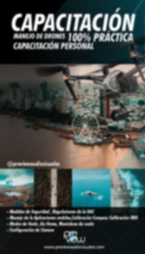 capacitaciones de manejo de drones 100%